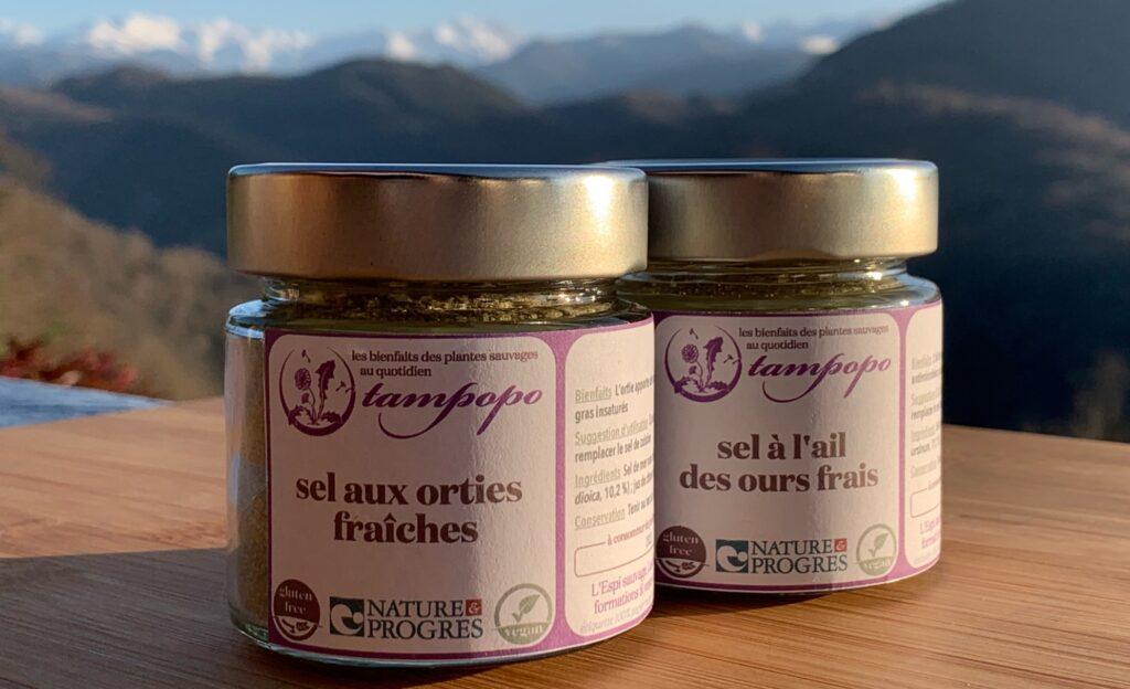 Nouvelle gamme et nouvel étiquetage, avec la mention Nature & Progrès, pour les sels de Tampopo