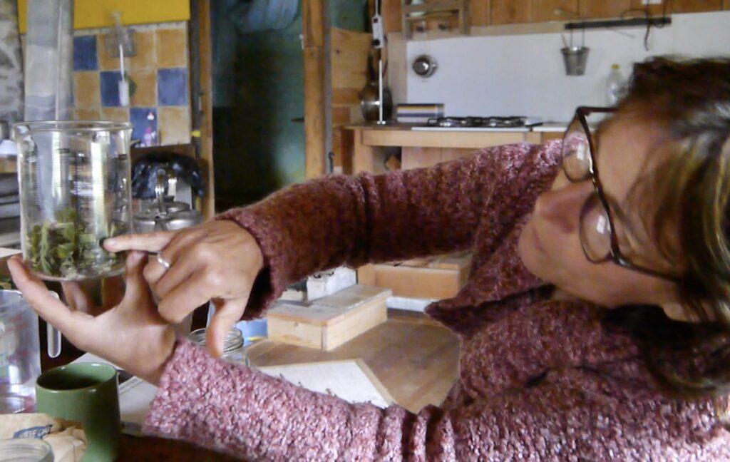 Françoise Aversaing, co-équipière de Glaneurs de nature