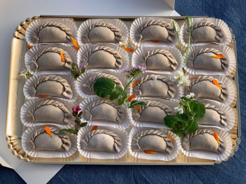Les raviolis de Tampopo, 100% au sarrasin et farcis aux plantes sauvages
