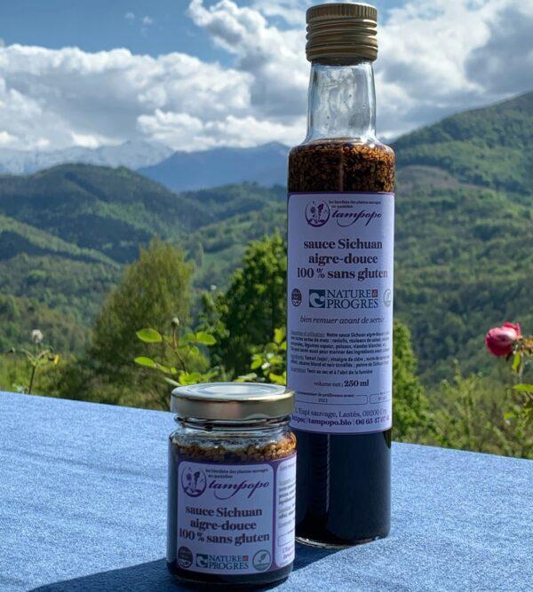 La sauce sichuan aigre-douce 100 % sans gluten de Tampopo