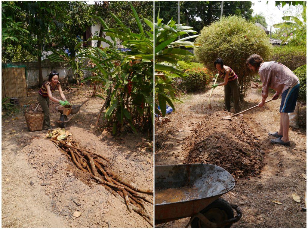 Tampopo, l'artisane : pratique permacole dans le jardin familial