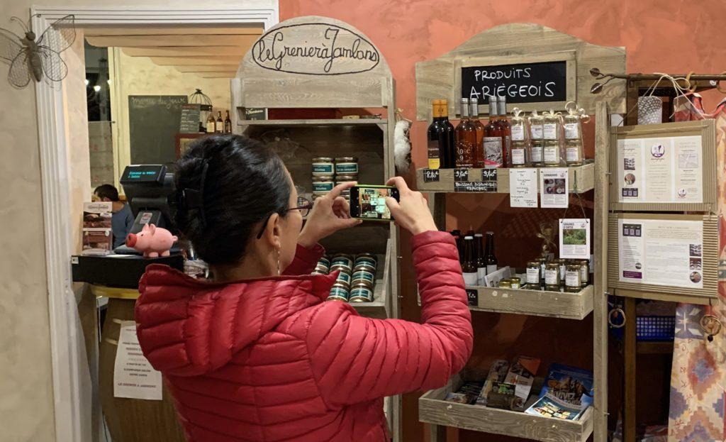 Tampopo installe ses produits conditionnés en boutique