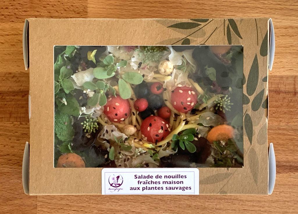 La salade de nouilles fraîches change de présentation pour l'automne